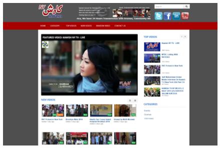 Kawish NY TV Live Online Services